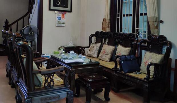 Nhà mặt phố Nguyễn Khắc Nhu, diện tích 25m2, nhà xây 5 tầng kiên cố kinh doanh tốt.